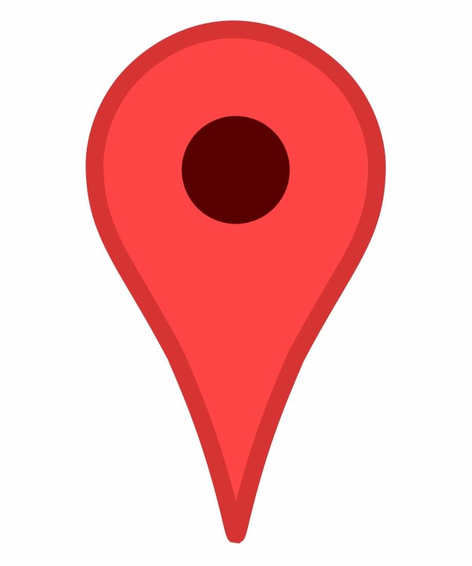 Google Maps Pin.
