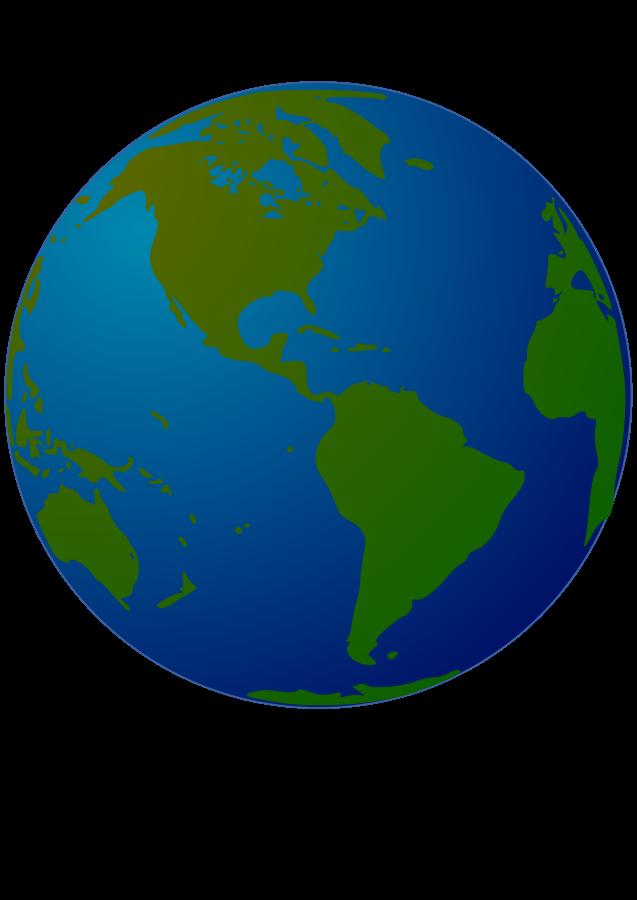 Globe clipart small.
