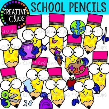 School Clipart Favorites Bundle (Formerly March VIP 2019).