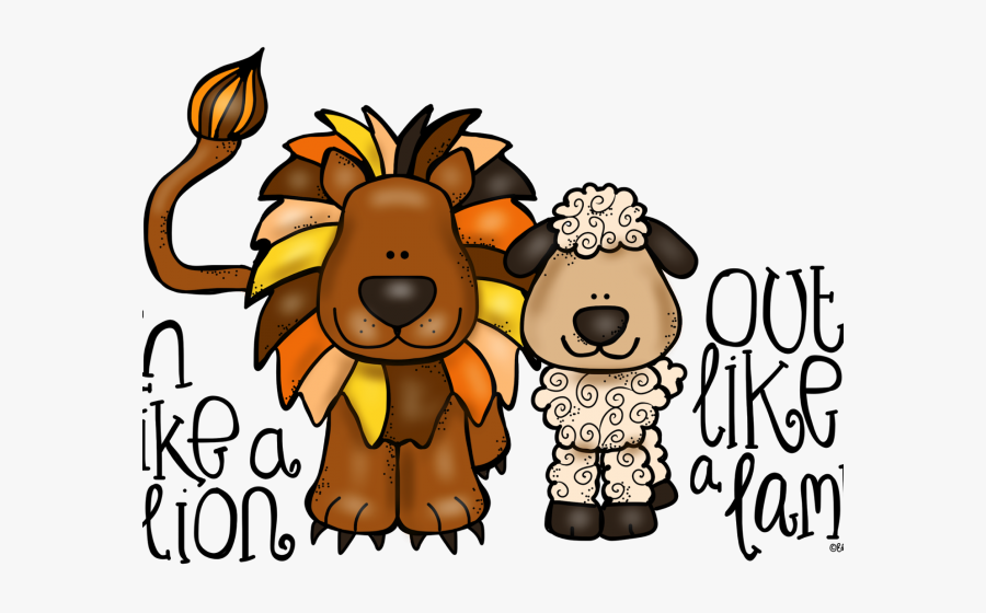 March Comes In Like A Lion Saying , Free Transparent Clipart.