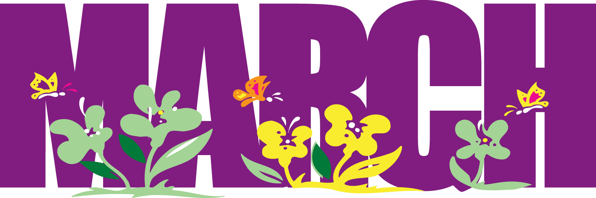 March Month PNG Transparent March Month.PNG Images..