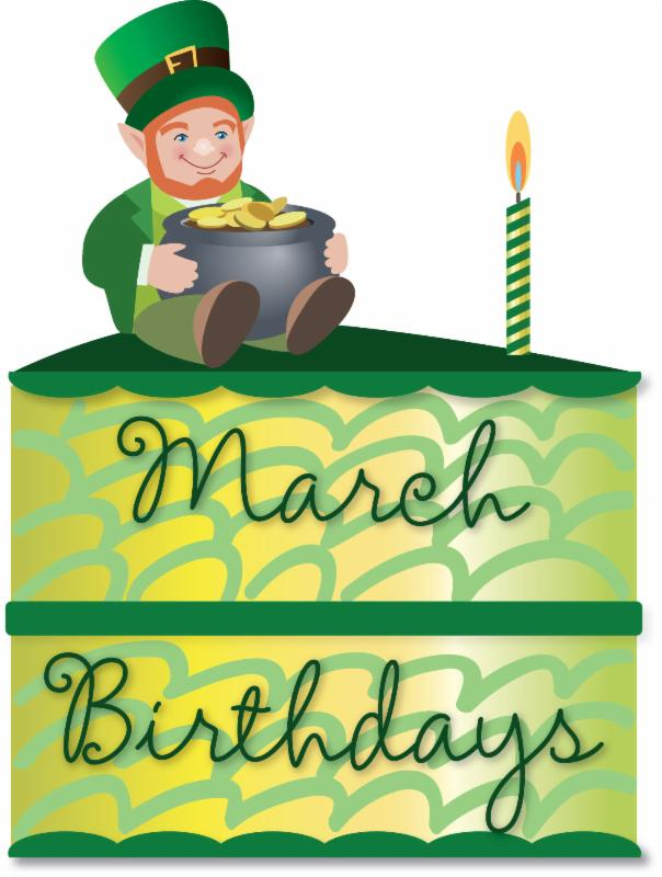 March birthday clipart » Clipart Station.