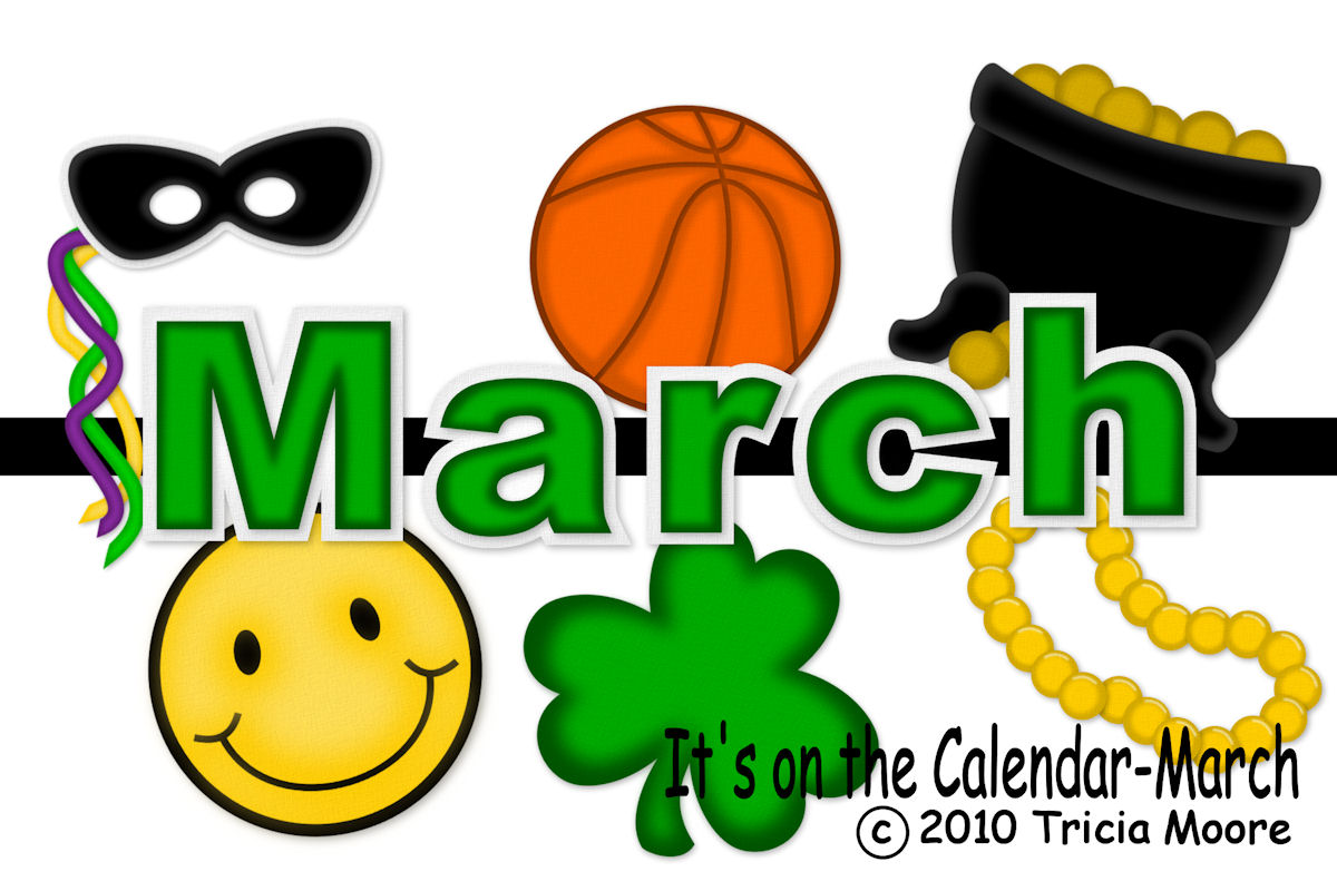 Similiar March Calendar Clip Art Keywords.