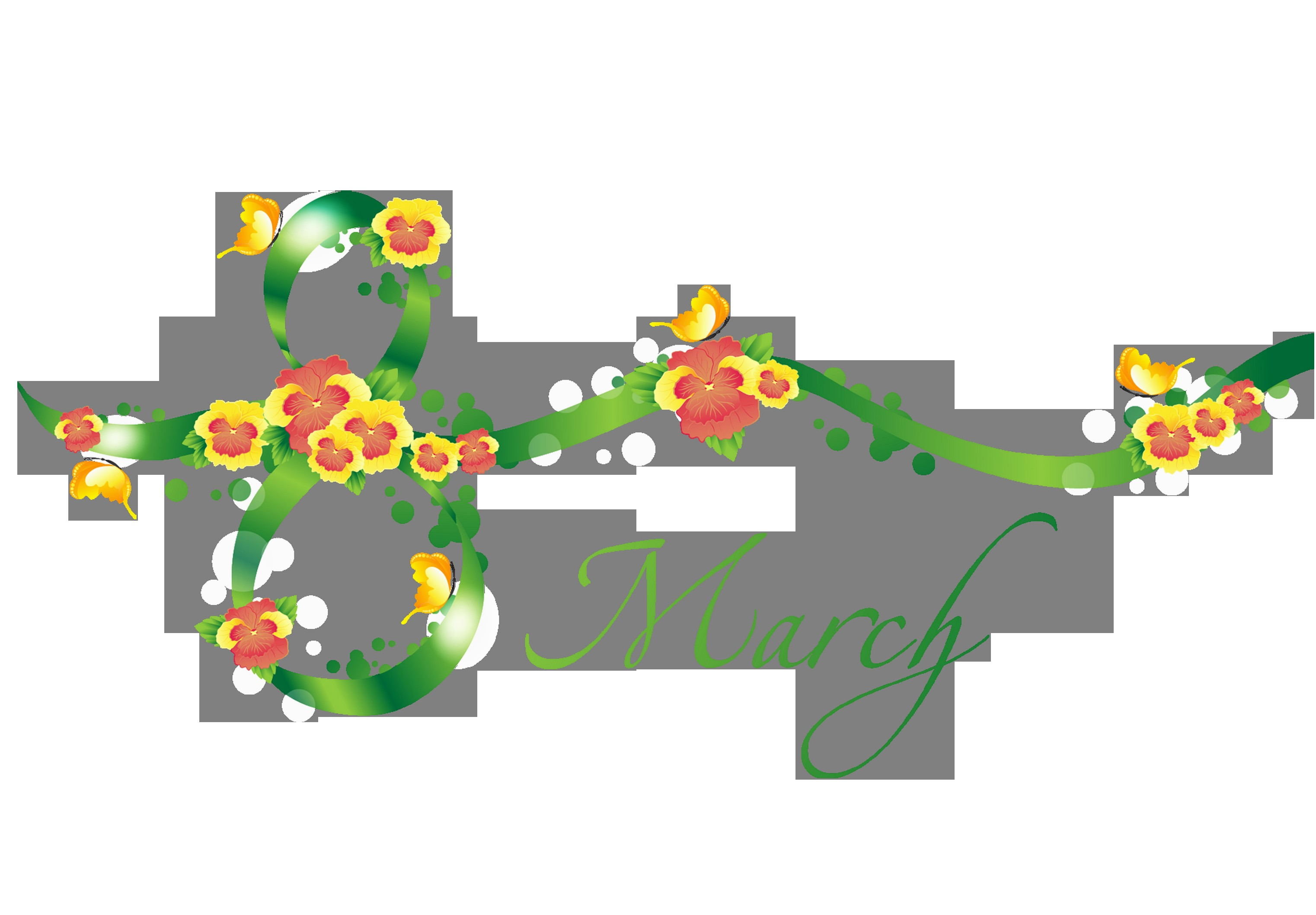 March clipart borders.