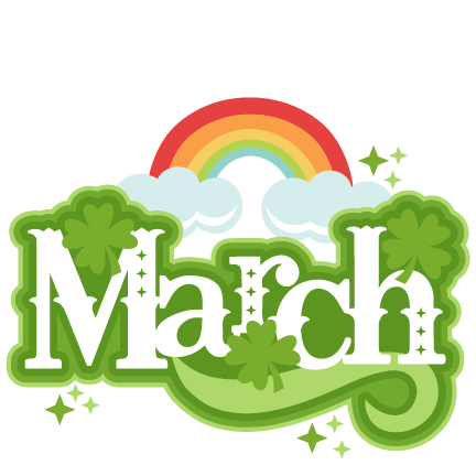 March Clip Art Free Printable.