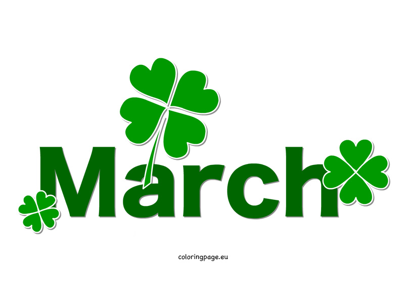 Animated march clipart.