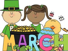 Free Clipart March.