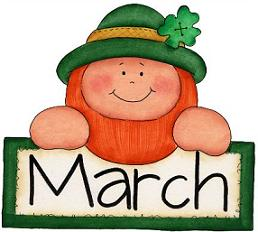 1444 March free clipart.