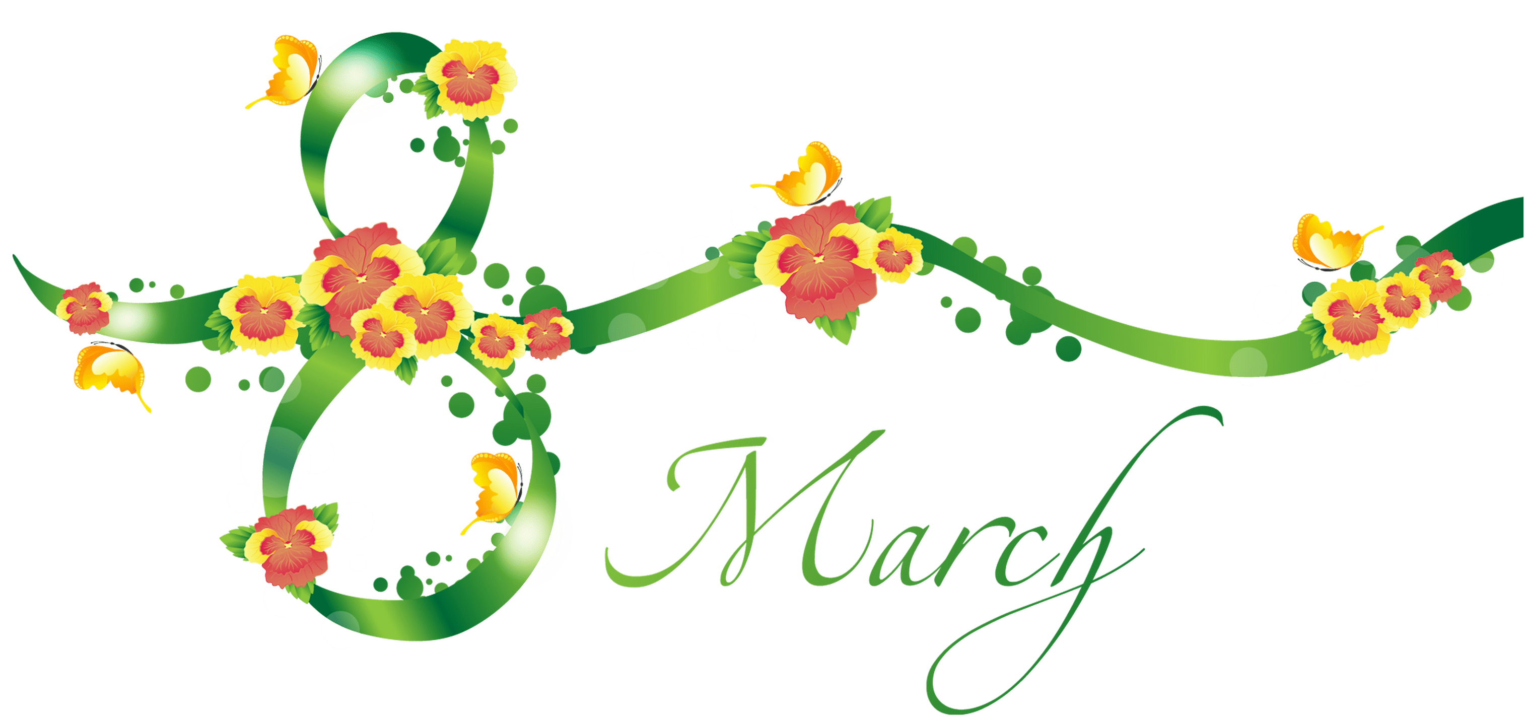 March Clipart for Facebook.