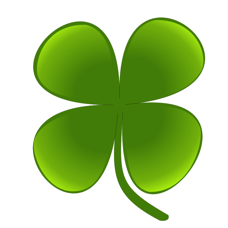 Free Clipart: Shamrock for march natha 01.