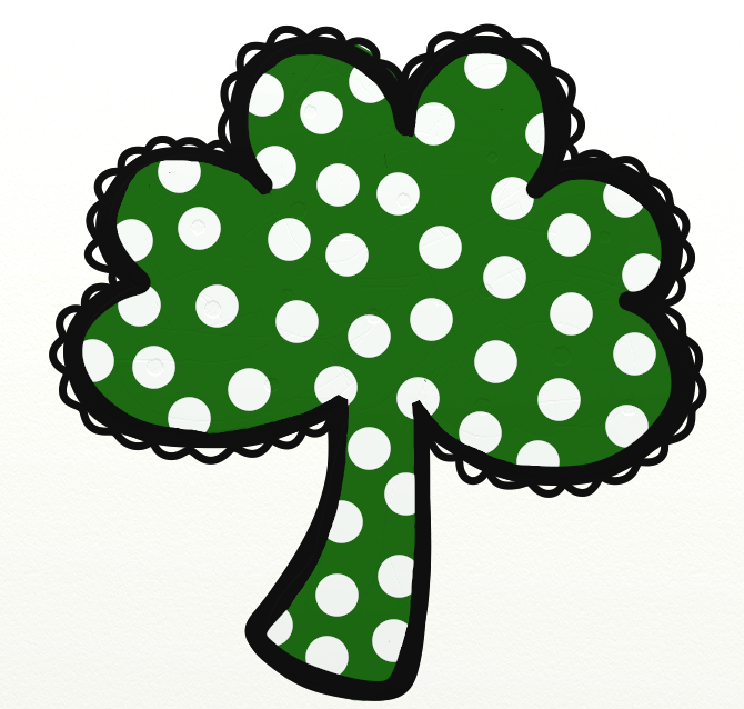 Shamrock march clip art free image #9017.