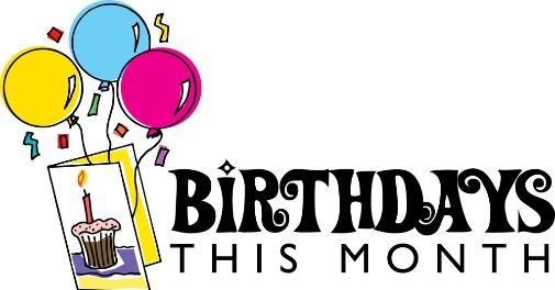 March Birthdays.