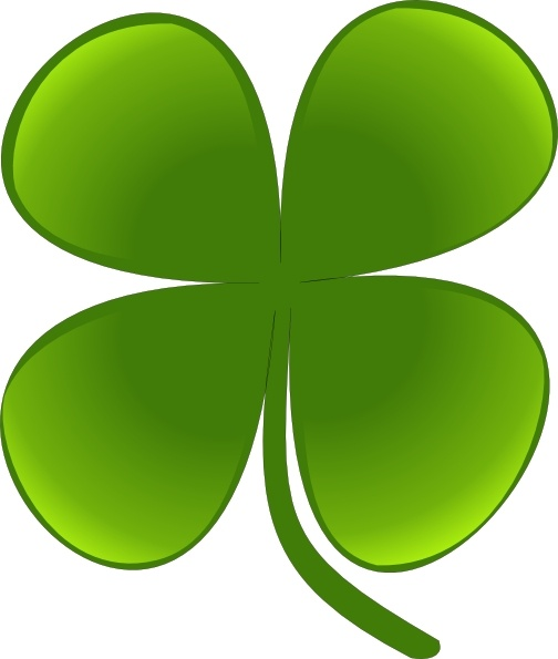 Shamrock For March clip art Free vector in Open office.