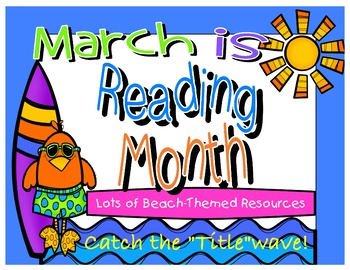March Is Reading Month Activities & Worksheets.