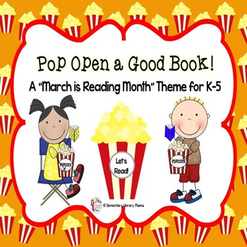March is Reading Month Theme: