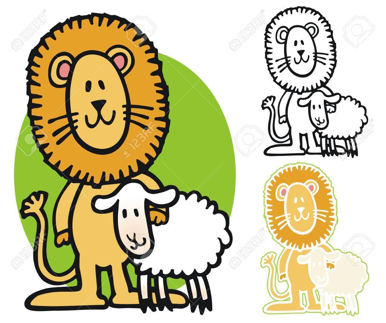 March lion lamb clipart 6 » Clipart Portal.