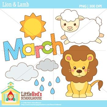 March Clipart.