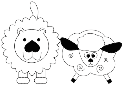 Lots of March Lion & Lamb Ideas!.