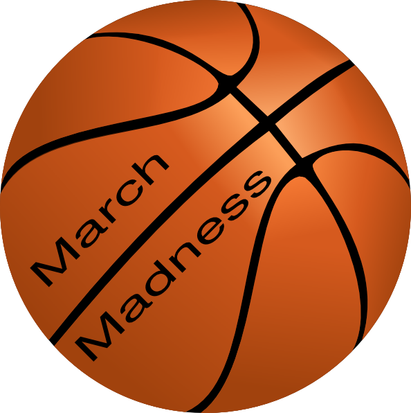 March Madness Basketball Clip Art at Clker.com.
