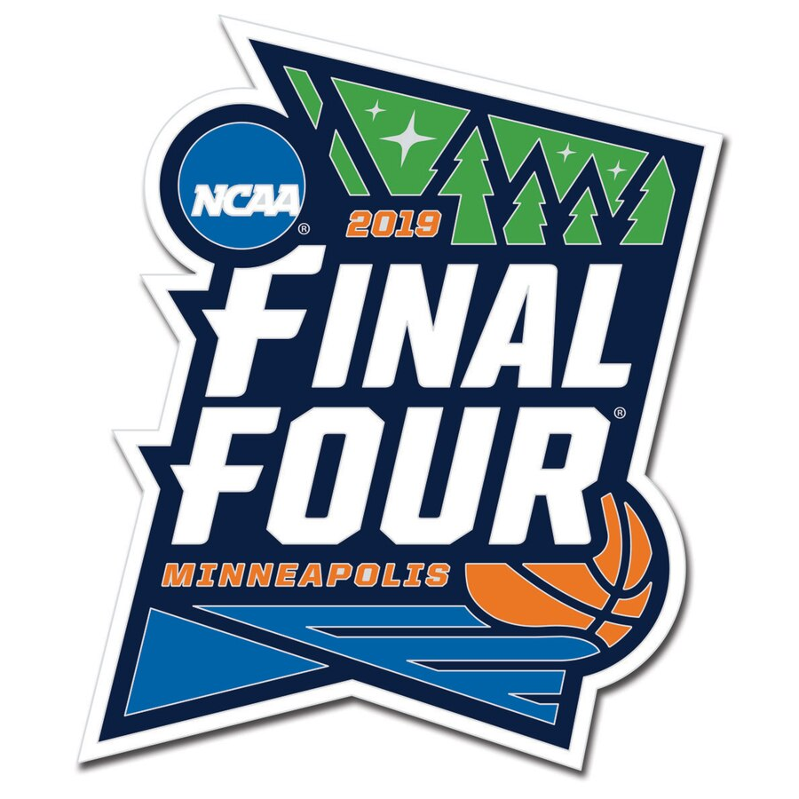 WinCraft 2019 NCAA Men\'s Basketball Tournament March Madness Final Four  Logo Collector Pin.