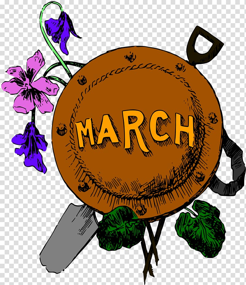 Calendar March , the month transparent background PNG.