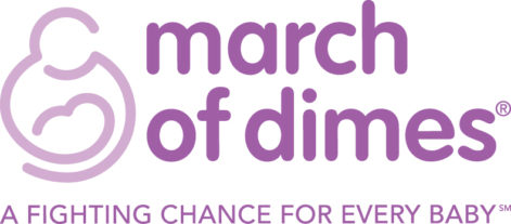 March of Dimes Logo.