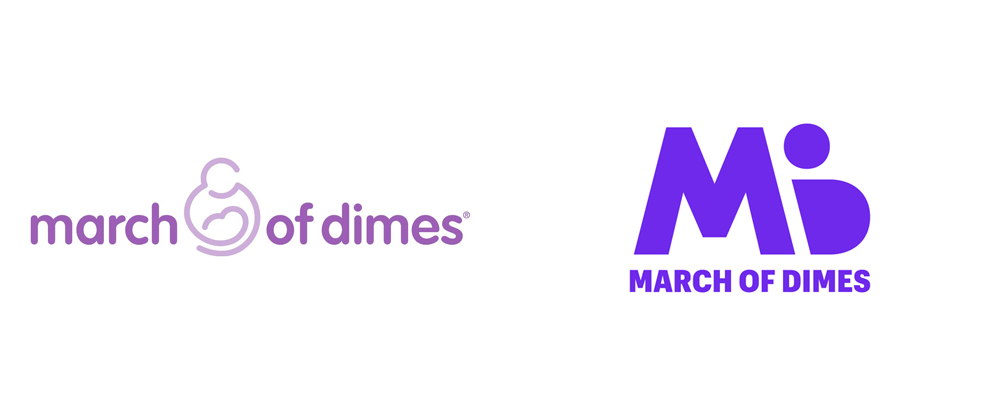 Brand New: New Logo for March of Dimes.