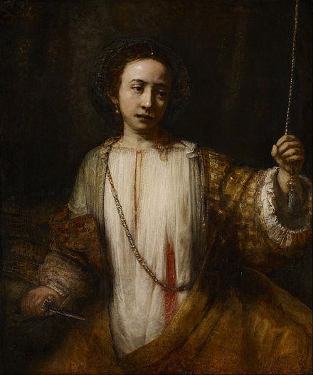 Portrait of Marchesa Brigida Spinola.