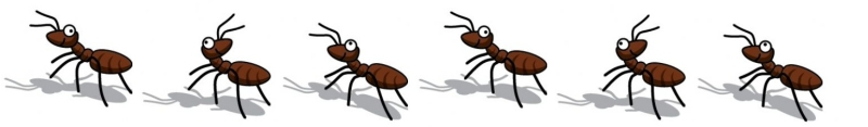 Marching Ants Cliparts.