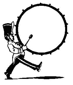 Marching band clip art 2.