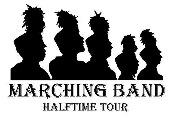 Marching band clipart black and white 1 » Clipart Station.