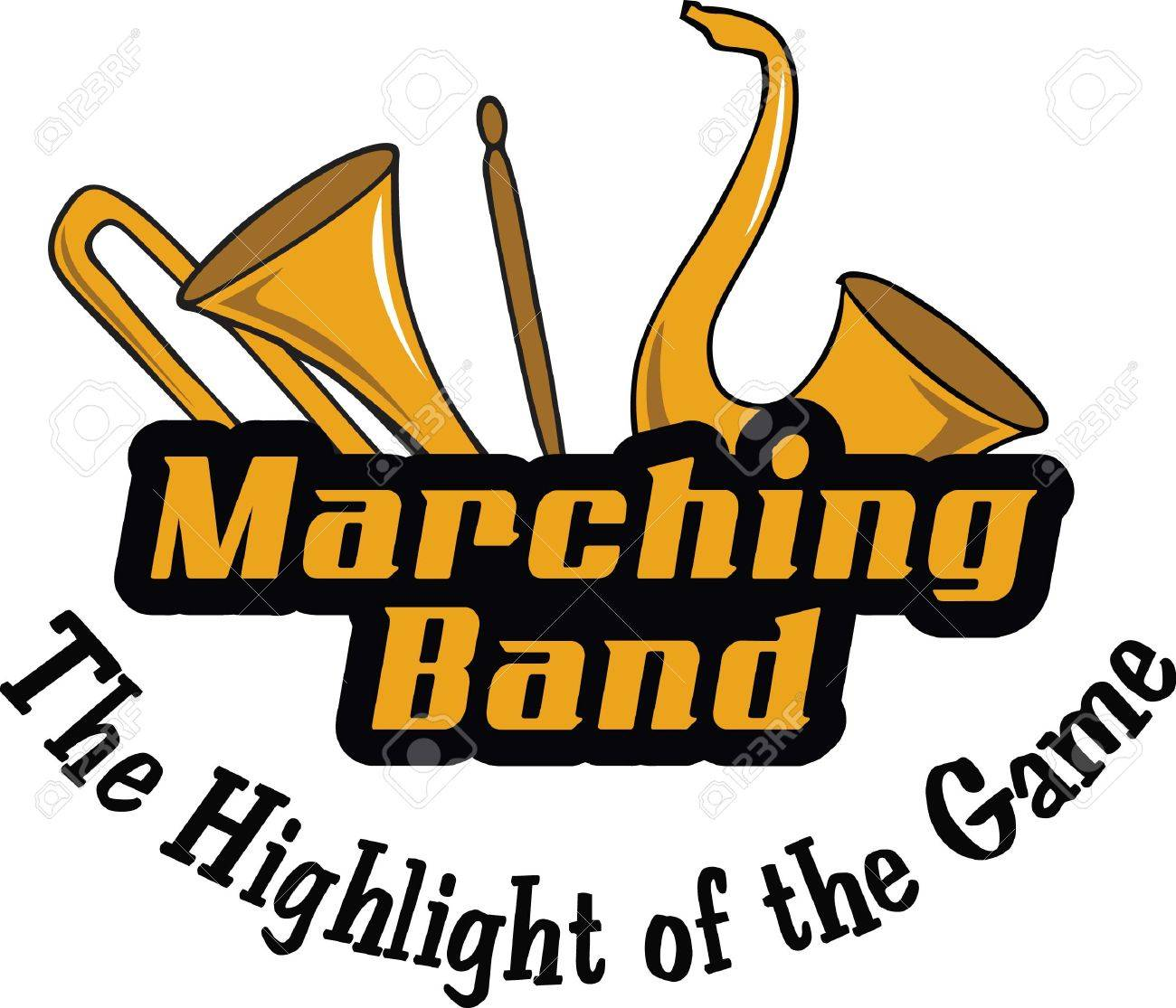 Make a marching band project with these instruments..