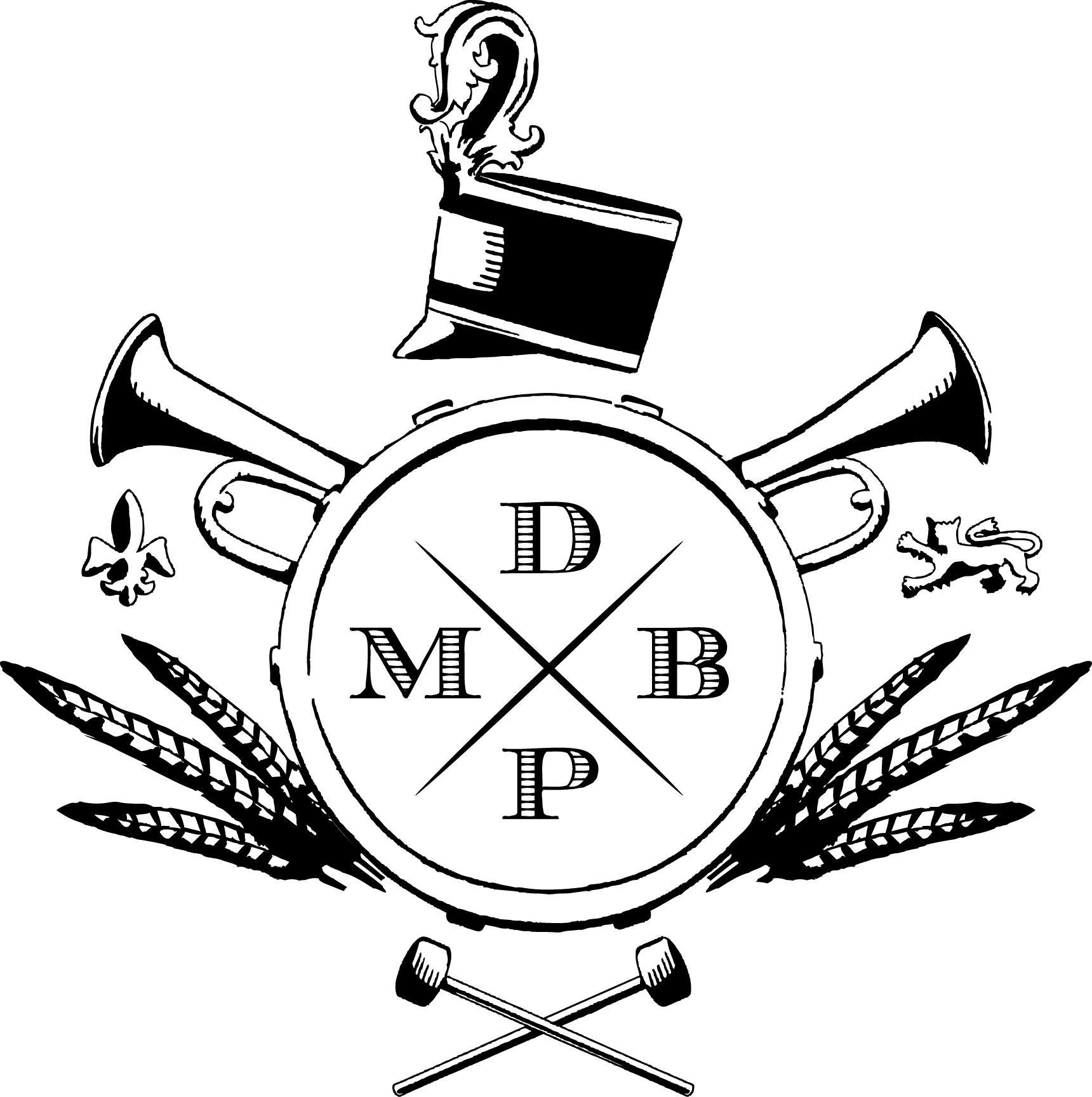 marching band logo.