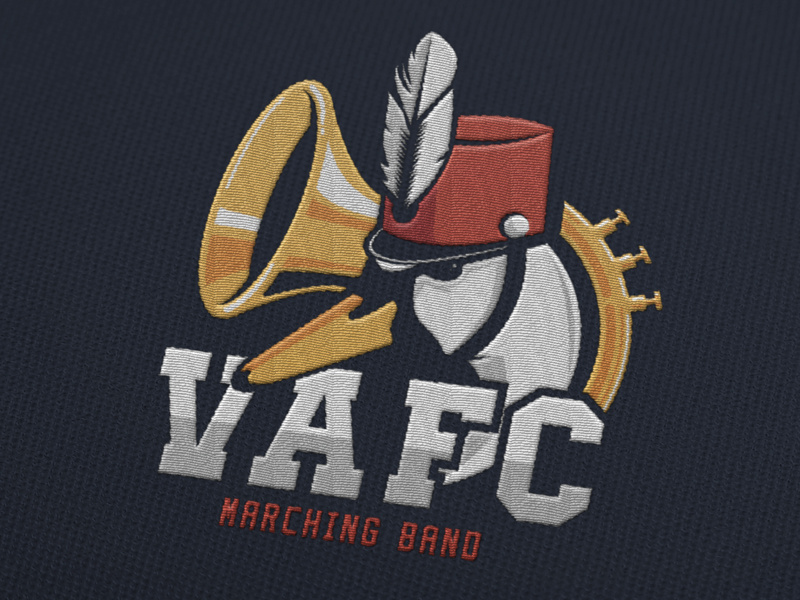 Marching Band logo by Ivan Delafond on Dribbble.