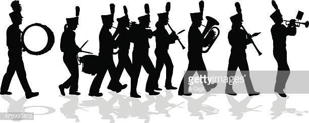 60 Top Marching Band Stock Illustrations, Clip art, Cartoons.