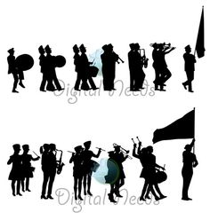 Marching Band Clipart Graphics Images & Pictures.
