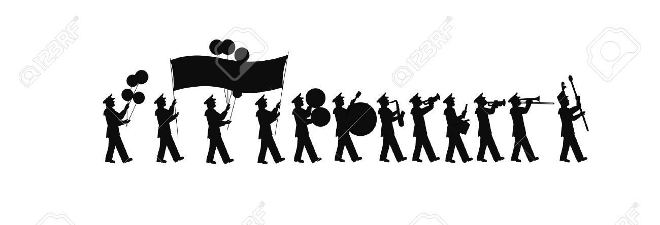 Band Silhouette Stock Photos Images. Royalty Free Band Silhouette.