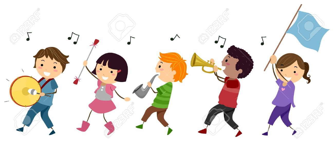 Marching clipart.