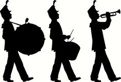 Free Marching Band Clipart Images.