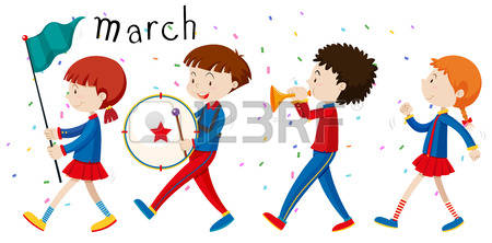 242 Marching Drum Stock Vector Illustration And Royalty Free.