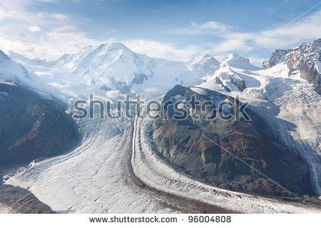 Glaciation Stock Photos, Royalty.