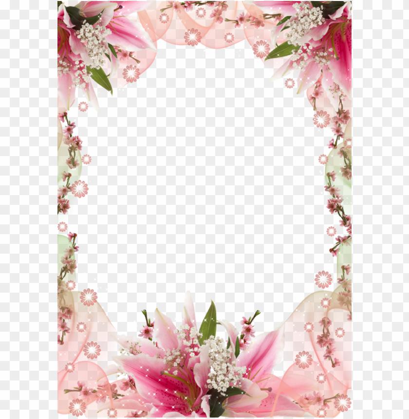 download marcos de cumpleaños con flores clipart picture.