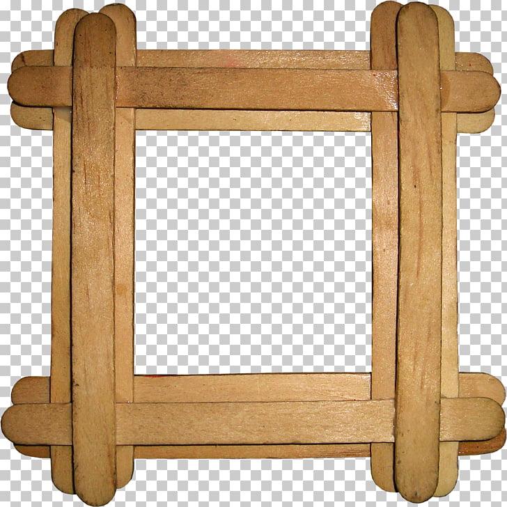 Marcos de madera, ventana de dibujo, marco de madera. PNG.