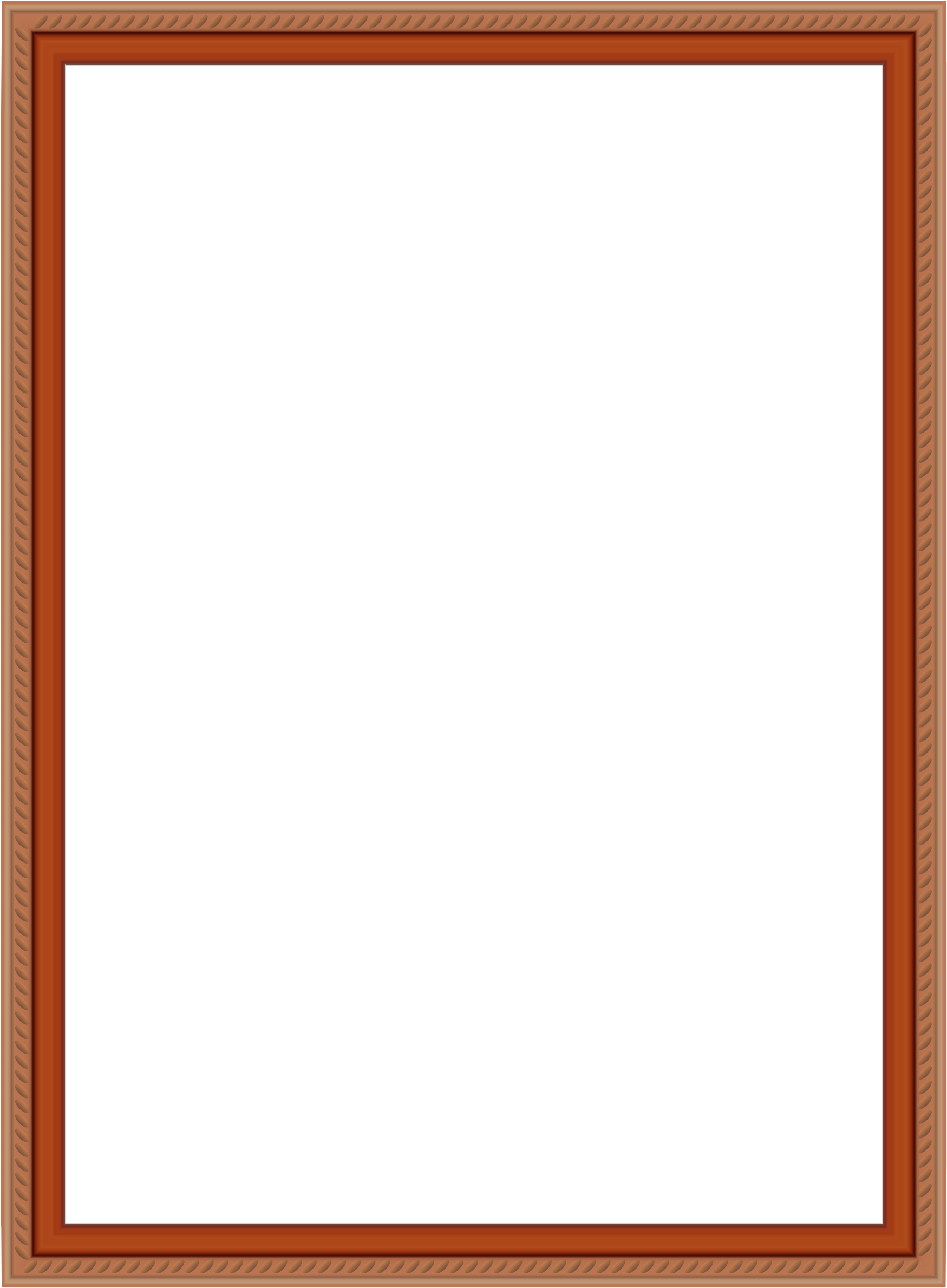 Border Free Metallic Shadow Box Free Picture Frame.