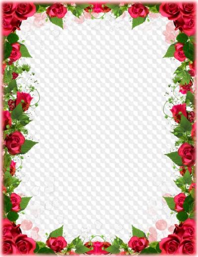Rosas PNG.
