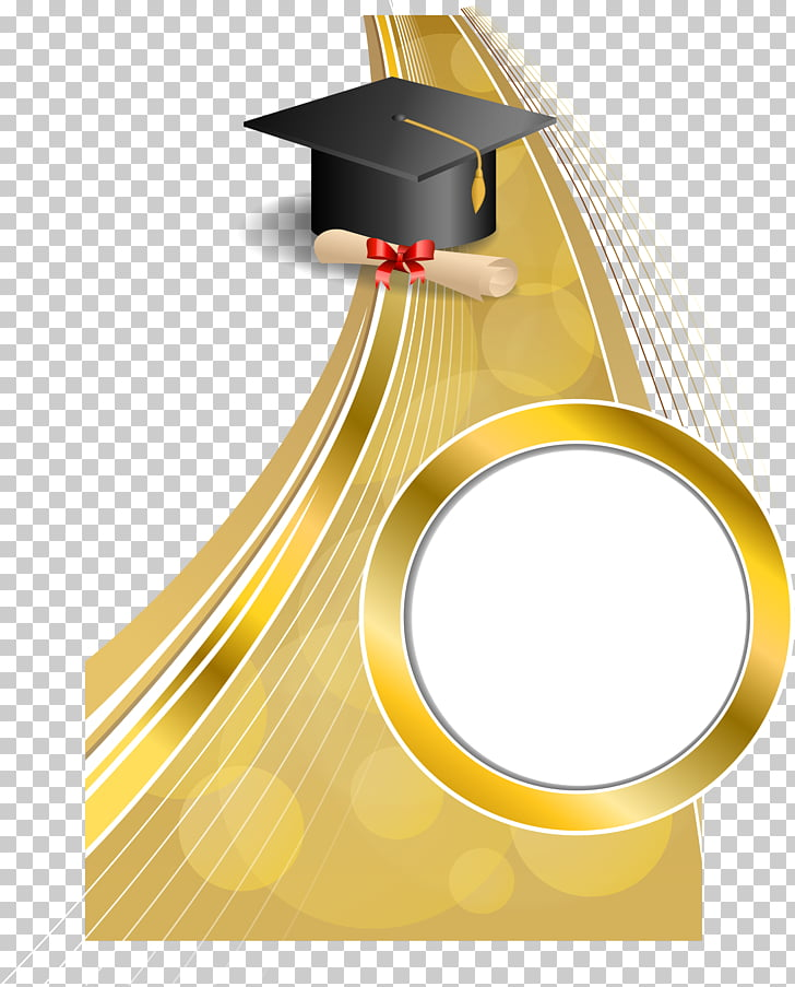 Graduation ceremony Diploma Square academic cap.