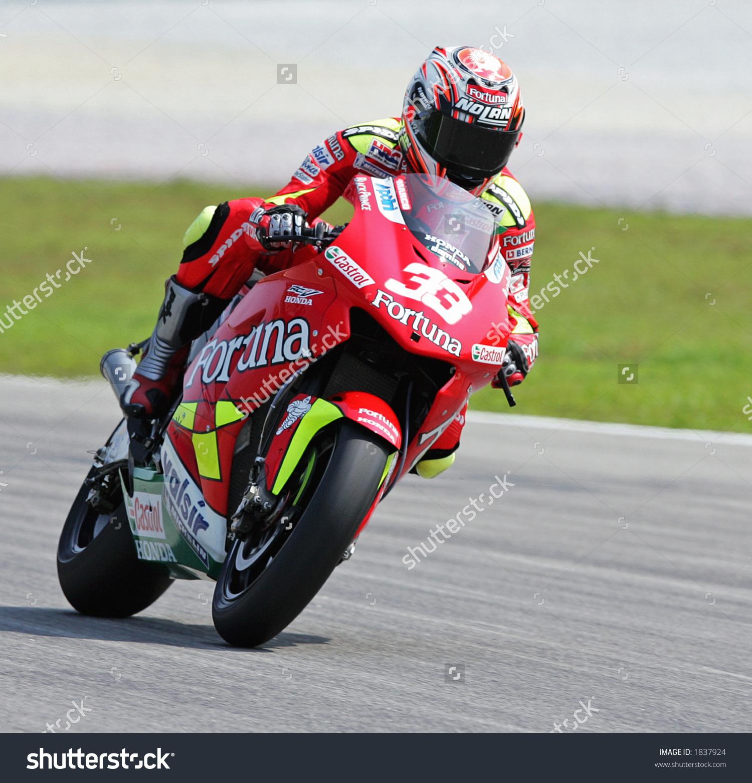 Italian Motogp Rider Marco Melandri Fortuna Stock Photo 1837924.