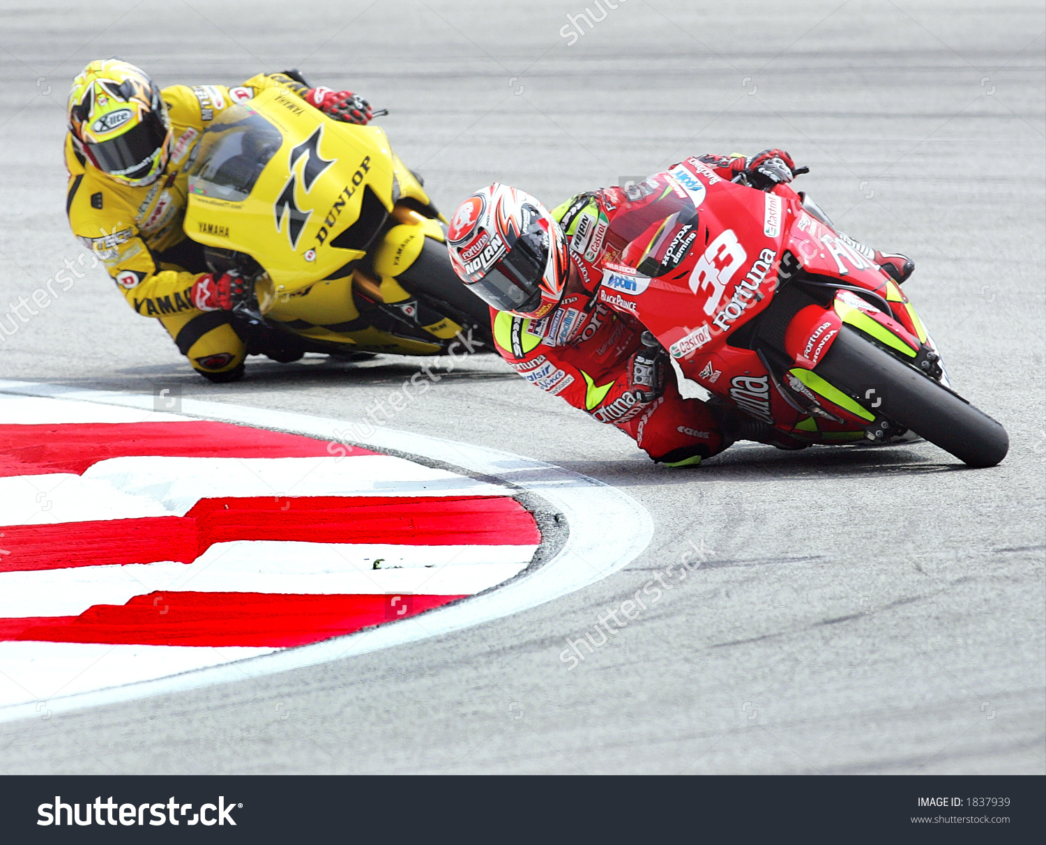 Motogp Rider Italian Marco Melandri 33 Stock Photo 1837939.