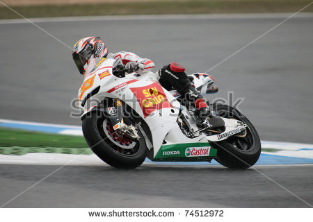 Gp Marco Melandri Moto Stock Photos, Royalty.