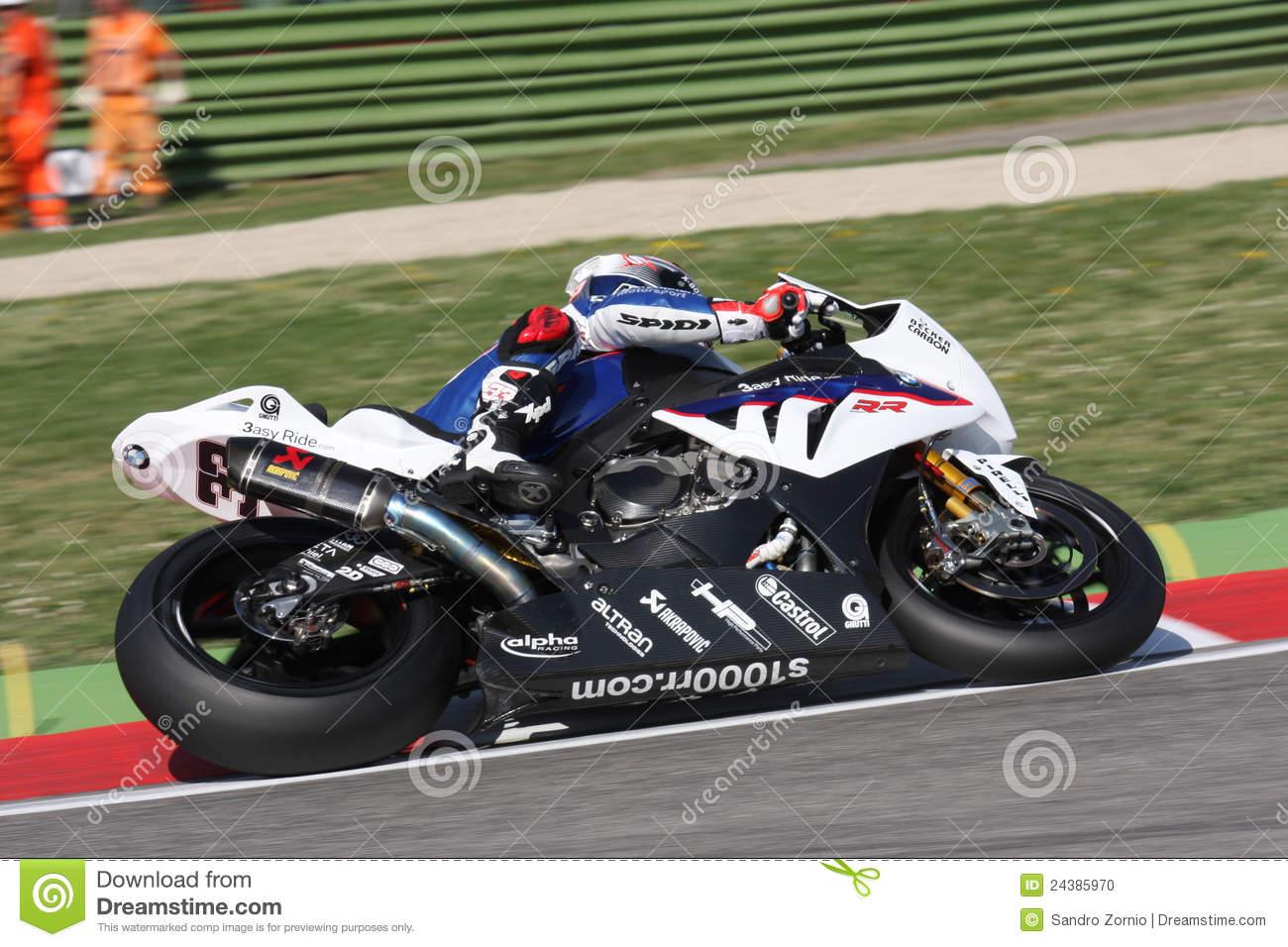 Marco Melandri BMW S1000 RR.